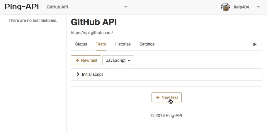 Documentation - Ping-API